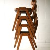 Set of 4 Stacking Chairs 1