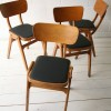Set of 4 Stacking Chairs 3