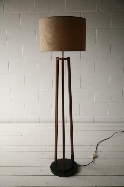 Teak 1960s Floor Lamp