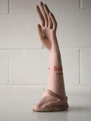 VIntage Shop Display Hand