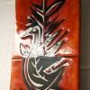 Vintage Ceramic Wall Plaque 1