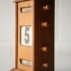 Vintage Oak Desk Calendar1