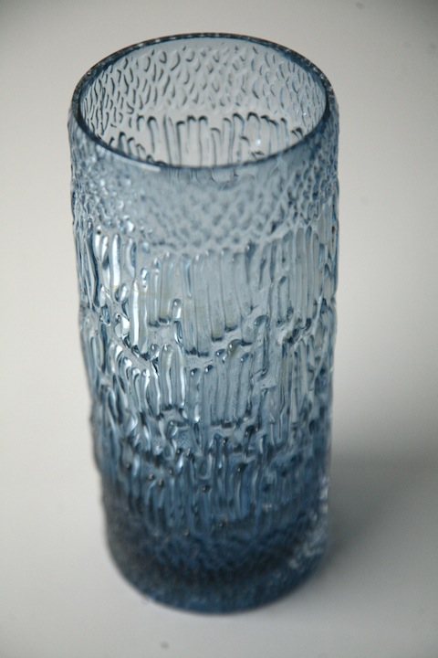 Glass Vase Ronald Stennett Willson For Wedgwood Cream