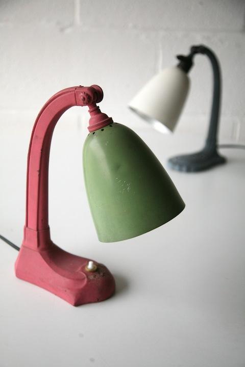 1930s Desk Lamps