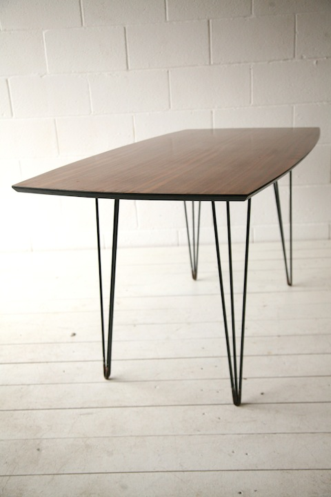 1950s Hairpin Dining Table