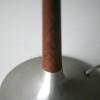 1960s Aluminium Rosewood Table Lamp 3