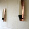 1960s Copper Wall Lights 1