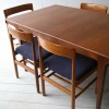 1960s Teak Dining Table and 6 Chairs by Dalescraft