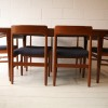 1960s Teak Dining Table and 6 Chairs by Dalescraft2