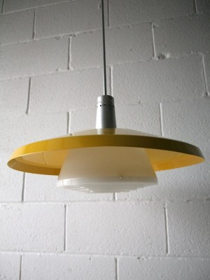 1960s Ceiling Lights x 6