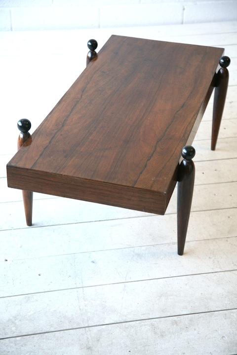 Rosewood 1950s Coffee Table