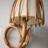 Vintage 50s Bamboo Wall Light