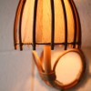 Vintage 50s Bamboo Wall Light1