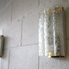 1960s Small Glass Wall Lights by Doria German 1