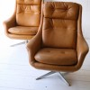 1960s Swivel Chairs Made in Sweden