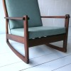 Afromosia Rocking Chair by Furniture Productions