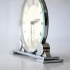 Art Deco Chrome Mantle Clock 1