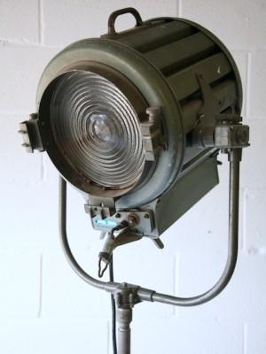 Large Mole and Richardson Spot Lamp