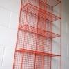 Orange Industrial Cage