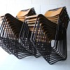 Set of 23 Industrial Stacking Chairs 2