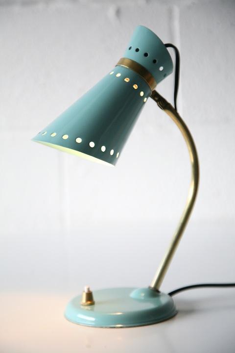 Vintage 1950s Desk Lamp