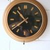 Vintage Gold Wall Clock