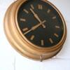 Vintage Gold Wall Clock 1