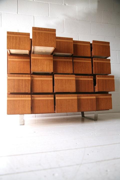 1970s Teak Filing Cabinet 1970s Teak Filing Cabinet2 ...