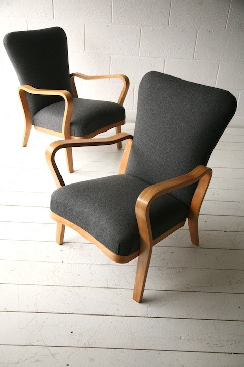 Pair of Bentwood Chairs by Eric Lyons
