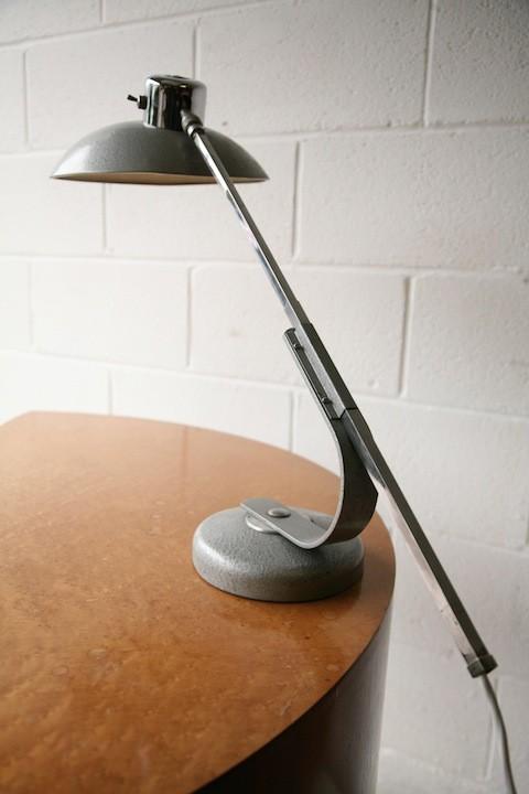 Vintage 1950s SOLR Desk Lamp