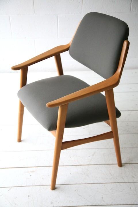 1960s Beech Side Chair