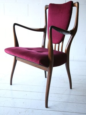 AJ Milne Rosewood Chairs