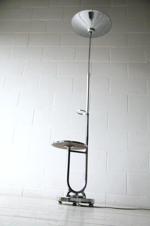 Art Deco Chrome Floor Lamp 2
