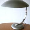 Vintage Silver Desk Lamp by Hillebrand4