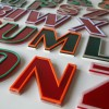 01 Vintage Plastic 1960s Shop Letters3