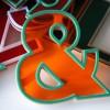 01 Vintage Plastic 1960s Shop Letters4