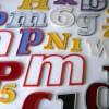 15 Vintage Plastic 1960s Shop Letters3