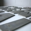 16 Large VIntage Metal Shop Letters Doric Font 2