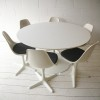 1960s Dining Table and 6 Chairs by Arkana