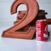 25  Large Wooden Vintage Shop Letters Doric Font 4