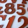 25  Large Wooden Vintage Shop Letters Doric Font