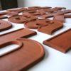 26 Wooden Vintage Shop Letters Doric Font 2
