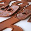 26 Wooden Vintage Shop Letters Doric Font 3