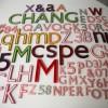 29 Vintage Plastic Shop Letters Gill Sans Font 4
