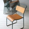 Industrial Blue Stacking Chairs1