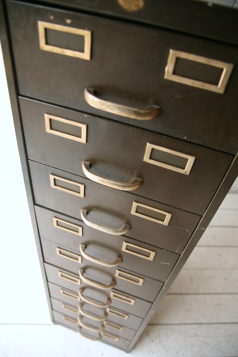 Industrial Chest Of Drawers By Art Metal London Cream