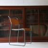 Large Vintage Glass Bookcase1