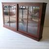 Large Vintage Glass Bookcase2