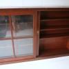 Large Vintage Glass Bookcase3