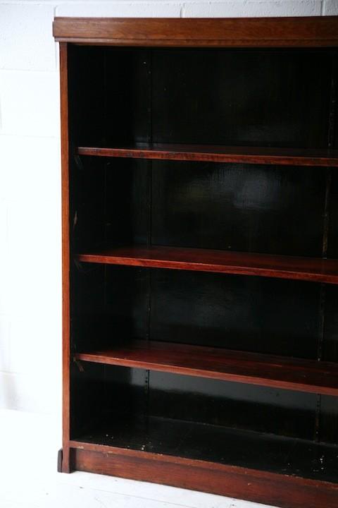 Large Vintage Oak Bookcase